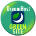 Green Web Hosting! This site hosted by DreamHost.